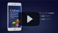 Oxford Advanced Learner's Dictionary App - for iOS and Android