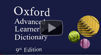 Oxford Advanced Learner's Dictionary, 9th edition