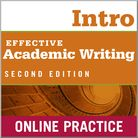 Effective Academic Writing Introductory Student Online Practice cover