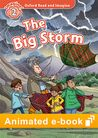 Oxford Read and Imagine Level 2: The Big Storm animated e-book cover