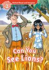 Oxford Read and Imagine Level 2: Can You See Lions? cover