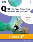 Q Skills for Success Level 4 Listening & Speaking e-book - buy codes for institutions cover