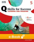 Q Skills for Success Level 5 Listening & Speaking e-book - buy codes for institutions cover