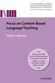 Focus on Content-Based Language Teaching e-Book for Kindle cover