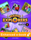 Young Explorers Level 2 Class Book e-book - buy in-App cover
