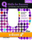 Q Skills for Success Intro Level Listening & Speaking e-book - buy codes for institutions cover