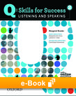 Q Skills for Success Level 2 Listening & Speaking e-book - buy codes for institutions cover