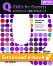 Q Skills for Success Listening and Speaking Intro e-book with Online Practice - buy codes for institutions cover
