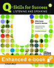 Q Skills for Success Listening and Speaking 3 e-book with Online Practice - buy codes for institutions cover