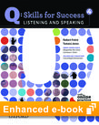 Q Skills for Success Listening and Speaking 4 e-book with Online Practice - buy codes for institutions cover
