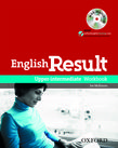 English Result Upper-Intermediate Workbook with MultiROM Pack cover