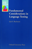 Fundamental Considerations in Language Testing cover