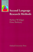 Second Language Research Methods cover