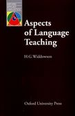 Aspects of Language Teaching cover