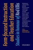 Form-focused Instruction and Teacher Education e-book for Kindle cover