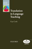 Translation in Language Teaching cover