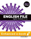 English File Beginners Workbook e-Book cover