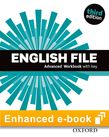 English File Advanced Workbook e-Book cover
