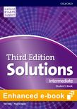 Solutions Intermediate Student's Book e-Book - buy codes for institutions cover