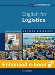 Express Series English for Logistics e-book - buy codes for institutions cover