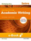 Effective Academic Writing Introductory e-book - buy codes for institutions cover