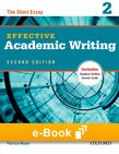 Effective Academic Writing 2 e-book - buy codes for institutions cover