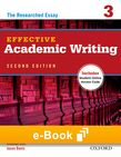 Effective Academic Writing 3 e-book - buy codes for institutions cover