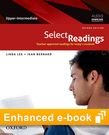 Select Readings Upper Intermediate e-book - buy codes for institutions cover