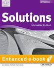 Solutions Intermediate Workbook e-book - buy codes for institutions cover