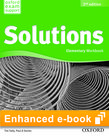 Solutions Elementary Workbook e-book - buy in-App cover