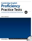 Cambridge English: Proficiency (CPE) Practice Tests with Key cover