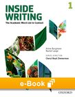 Inside Writing Level 1 e-book - buy codes for institutions cover
