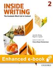 Inside Writing Level 2 e-book - buy codes for institutions cover