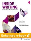 Inside Writing Level 4 e-book - buy codes for institutions cover