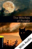 Oxford Bookworms Library Level 1: The Witches of Pendle e-book with audio cover