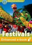 Oxford Read and Discover Level 3 Festivals Around the World e-book - buy codes for institutions cover