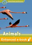 Oxford Read and Discover Level 3 Animals in the Air e-book - buy codes for institutions cover