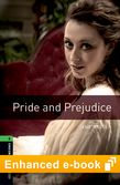 Oxford Bookworms Library Level 6: Pride and Prejudice e-book - buy codes for institutions cover