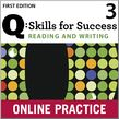 Q Skills for Success Reading and Writing 3 Student Online Practice cover
