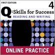 Q Skills for Success Reading and Writing 4 Student Online Practice cover