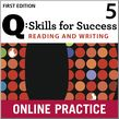 Q Skills for Success Reading and Writing 5 Student Online Practice cover