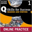 Q Skills for Success Level 1 Reading & Writing Student Online Practice cover