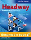 New Headway Intermediate B1 Student's Book e-book - buy codes for institutions cover