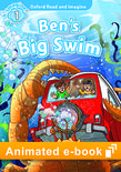 Oxford Read and Imagine Level 1: Ben's Big Swim animated e-book - buy codes for institutions cover