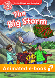 Oxford Read and Imagine Level 2: The Big Storm animated e-book - buy codes for institutions cover