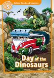 Oxford Read and Imagine Level 5: Day of the Dinosaurs cover