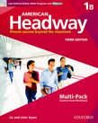 American Headway One Multi-Pack B with Online Skills and iChecker cover