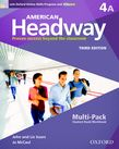 American Headway Four Multi-Pack A with Online Skills and iChecker cover