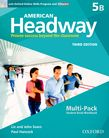 American Headway Five Multi-Pack B with Online Skills and iChecker cover