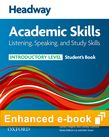 Headway Academic Skills Introductory Listening, Speaking and Study Skills e-book - buy codes for institutions cover